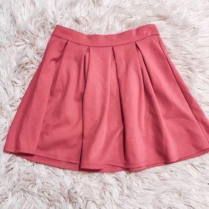 Forever 21 Skirts - Pleated pink skirt forever21